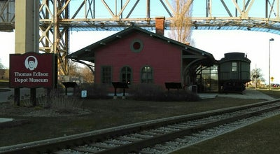 Photo of History Museum Thomas Edison Depot Museum at Thomas Edison Pkwy, Port Huron, MI 48060, United States