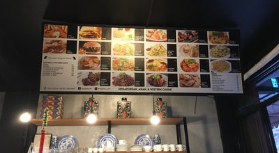 Photo of Asian Restaurant Singlish Cafe at 60c Lilac Street, Hacienda Heights, Marikina, Philippines