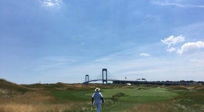 Photo of Golf Course Trump Golf Links at Ferry Point at 500 Hutchinson River Pkwy, Bronx, NY 10465, United States