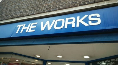 Photo of Bookstore The Works at 8 Long Wyre St, Colchester CO1 1LH, United Kingdom