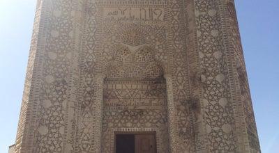 Photo of Historic Site Üç günbəz | سه گنبد at Rahnemai St., Urmia, Iran