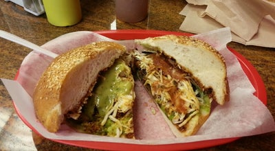 Photo of Mexican Restaurant Cemitas Puebla at 3619 W North Ave, Chicago, IL 60647, United States