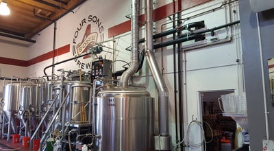 Photo of Brewery Four Sons Brewing at 18421 Gothard St, Huntington Beach, CA 92648, United States