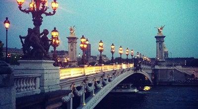 Photo of Bridge Pont Alexandre III at Pont Alexandre Iii, Paris 75007, France