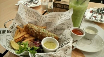 Photo of Fish and Chips Shop The Manhattan Fish Market at Aeon Mall, Gf #025, Tangerang, Indonesia