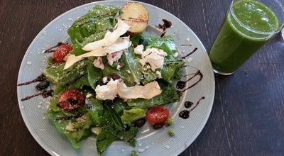 Photo of Vegetarian / Vegan Restaurant My Allée at 삼부골3로 6, 과천시, South Korea