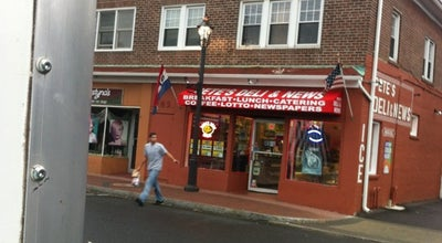 Photo of Restaurant Pete's Deli & News at 149 Bridgeport Ave, Milford, CT 06460, United States