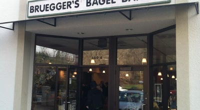 Photo of Bagel Shop Bruegger's at 160 Hendersonville Rd, Asheville, NC 28803, United States