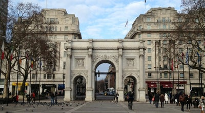 Photo of Park Marble Arch Square at Hyde Park, Marble Arch Corner, Westminster, United Kingdom