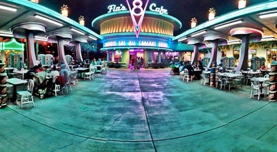 Photo of Diner Flo's V8 Café at Cars Land, Anaheim, CA 92802, United States