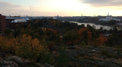 Photo of Mountain Linnanmäen kalliot at Helsinki, Finland