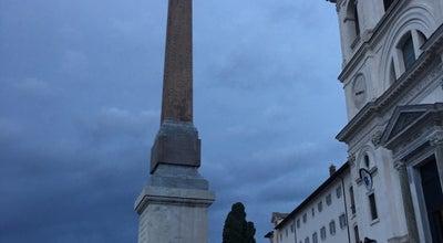 Photo of Monument / Landmark Obelisco Sallustiano at Piazza Della Trinità Dei Monti, Roma 00187, Italy