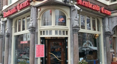 Photo of Cafe Rembrandt Corner at Jodenbreestraat 2hs, Amsterdam 1011 NK, Netherlands