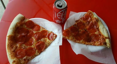 Photo of Pizza Place Frankie's Pizza-Cafe at 13452 Biscayne Blvd, North Miami, FL 33181, United States