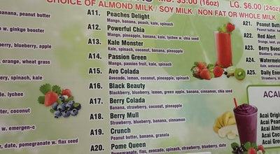 Photo of Juice Bar Cool Fresh Juice Bar at 2661 Broadway, New York, NY 10025, United States