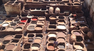 Photo of Historic Site Tanneries at Open Air Tannery, Fes, Morocco