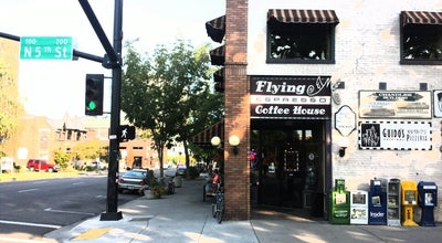 Photo of Coffee Shop Flying M Coffeehouse at 500 W Idaho St, Boise, ID 83702, United States