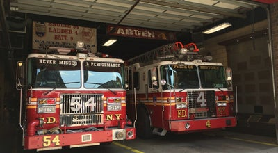 Photo of Fire Station FDNY Engine 54/Ladder 4 at 782 8th Ave, New York, NY 10036, United States