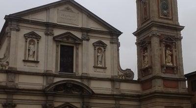 Photo of Church Basilica Santo Stefano Maggiore at Piazza Santo Stefano, Milano, Italy