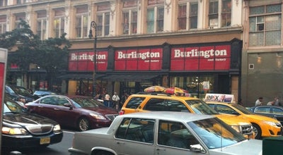 Photo of Clothing Store Burlington Coat Factory at 116 W 23rd St, New York, NY 10011
