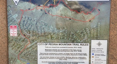 Photo of Trail Westwing Mountain at 27008 N High Desert Dr, Peoria, AZ 85383, United States