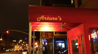 Photo of Italian Restaurant Arturo's at 106 W Houston St, New York, NY 10012, United States