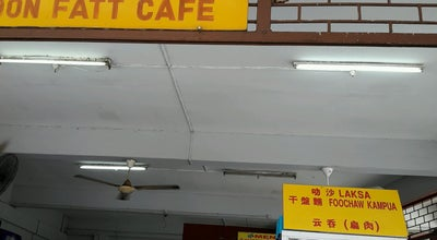 Photo of Food Truck Soon Fatt Café at Jalan Petanak, Kuching, Malaysia