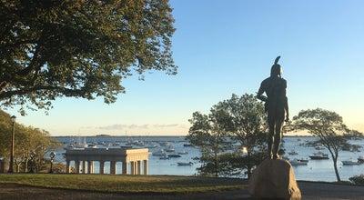 Photo of Monument / Landmark Massasoit Statue at Carver St, Plymouth, MA 02360, United States