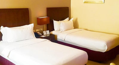 Photo of Pool Mandarin Plaza Hotel - Poolside at Cebu City, Philippines