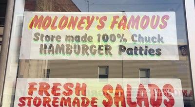 Photo of Butcher Moloney's Meat Market at 627 Newark Ave, Jersey City, NJ 07306, United States
