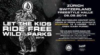 Photo of Skate Park Freestyle Halle at Bändlistrasse 74, Zürich 8064, Switzerland