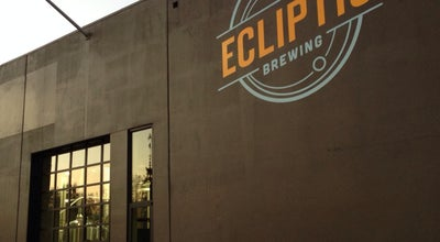 Photo of Brewery Ecliptic Brewing at 825 N Cook St, Portland, OR 97227, United States