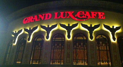 Photo of American Restaurant Grand Lux Cafe at 13420 Dallas Pkwy, Dallas, TX 75240, United States