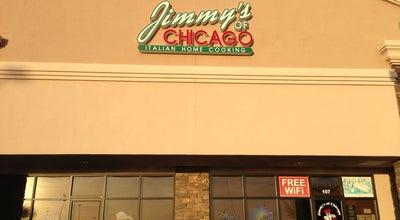 Photo of Italian Restaurant Jimmy's of Chicago at 884 E Williams Field Rd, Gilbert, AZ 85295, United States
