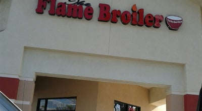 Photo of Asian Restaurant The Flame Broiler at 10633 Carmenita Rd, Santa Fe Springs, CA 90670, United States