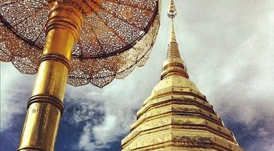 Photo of Buddhist Temple วัดพระธาตุดอยสุเทพราชวรวิหาร (Wat Phrathat Doi Suthep) at Si Wichai Rd., Mueang Chiang Mai 50200, Thailand