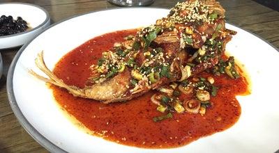 Photo of Seafood Restaurant 어등포해녀촌 at 구좌읍 행원로13길 131, Jeju-si, South Korea
