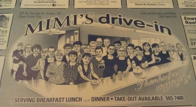 Photo of American Restaurant Mimi's Drive In at 201 N 2nd St, Fulton, NY 13069, United States