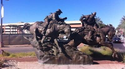 Photo of Historic Site Hashknife Pony Express Statue at 7135 E Camelback Rd #199, Scottsdale, AZ 85251, United States