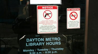 Photo of Library Dayton Metro Library E.C. Doren Branch at 701 Troy St, Dayton, OH 45404, United States