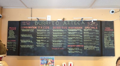 Photo of Mexican Restaurant El Burrito Azteca at 1942 N Rosa Parks Way, Portland, OR 97217, United States
