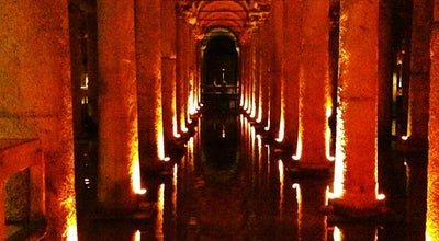 Photo of Monument / Landmark Basilica Cistern at Alemdar Mahallesi, Yerebatan Caddesi, No:1/3, Istanbul 34410, Turkey