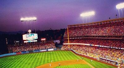 Photo of Baseball Stadium Dodger Stadium at 1000 Elysian Park Ave, Los Angeles, CA 90012, United States