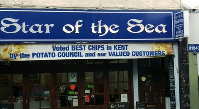 Photo of Fish and Chips Shop Star Of The Sea at High Street, Broadstairs C T10, United Kingdom
