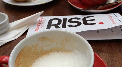 Photo of Cafe Rise at 19 Water Lane, Wilmslow SK9 5AE, United Kingdom