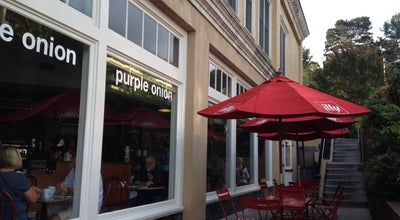 Photo of Cafe Purple Onion Cafe at 26 E Main St, Los Gatos, CA 95030, United States