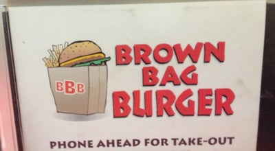 Photo of American Restaurant Brown Bag Burger at 150 E Sheldon St, Prescott, AZ 86301, United States