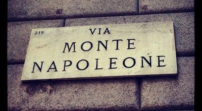 Photo of Road Via Monte Napoleone at Via Monte Napoleone, Milano 20121, Italy