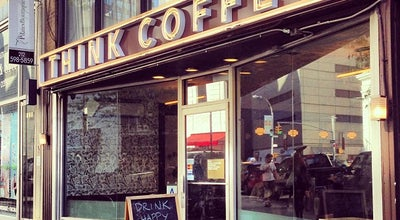 Photo of Coffee Shop Think Coffee at 123 4th Ave, New York, NY 10003, United States