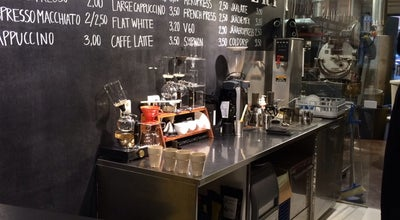 Photo of Coffee Shop Kaffa Roastery at Pursimiehenkatu 29, Helsinki 00150, Finland